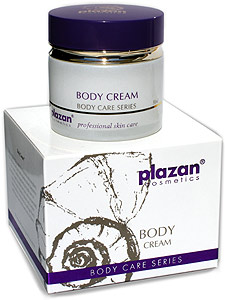 Plazan Body Cream Gold - one of the best body creams