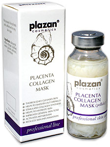 Placenta Collagen Mask used by jennifer lopez