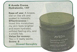 Aveda Creme tested by Sinead Geraghty, Irish Examiner