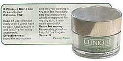 Clinique Rich tested by Penny Ryan, Irish Examiner